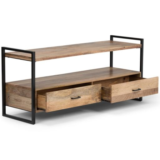 Simpli Home Riverside Rustic TV Stand