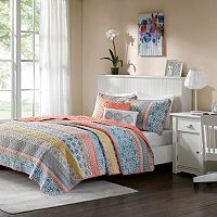 Intelligent Design Adley Coverlet Set