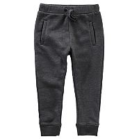 Toddler Boy OshKosh B'gosh® Heathered Fleece Jogger Pants