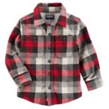 Toddler Boy OshKosh B'gosh® Checked Plaid Shirt