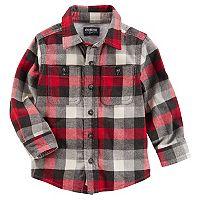 Toddler Boy OshKosh B'gosh® Checked Plaid Shirt