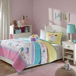 Mi Zone Kids Wriggle Coverlet Set