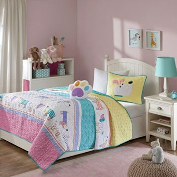 Mi Zone Kids Wriggle Coverlet Set