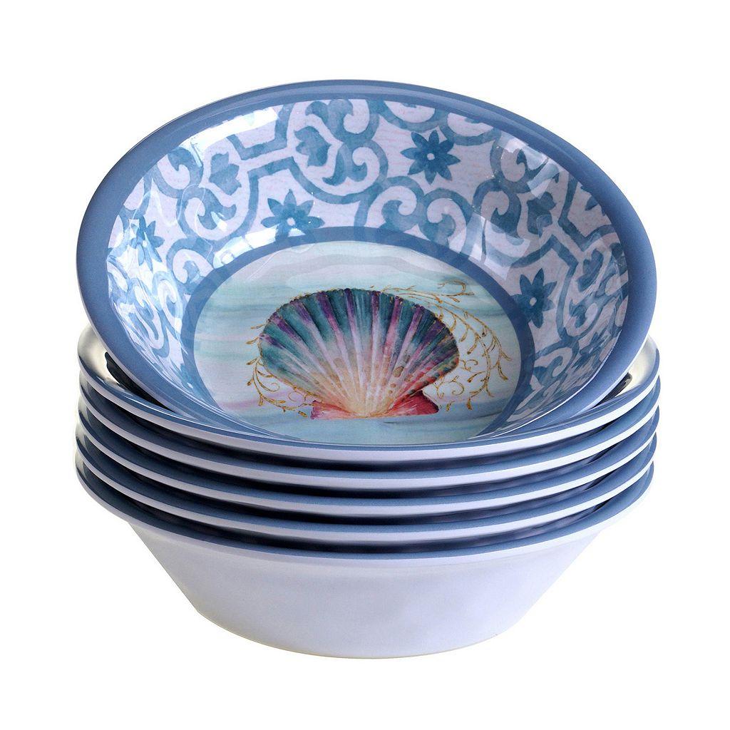 Certified International Ocean Dream 6-pc. All-Purpose Bowl Set
