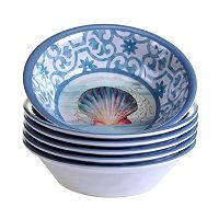 Certified International Ocean Dream 6-pc. All-Purpose Bowl Set