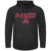 Men's Majestic Arizona Diamondbacks High Energy Hoodie