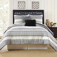 Deco Stripe 7 pc Comforter Set