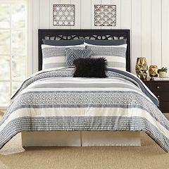 Deco Stripe 7-piece Comforter Set