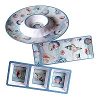 Certified International Ocean Dream 3-pc. Hostess Set