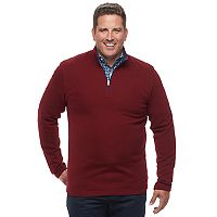 Big & Tall IZOD Advantage Regular-Fit Stretch Performance Fleece Quarter-Zip Pullover