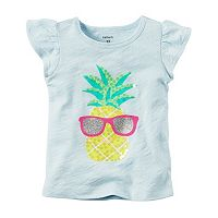 Baby Girl Carter's Embellished Graphic Tee