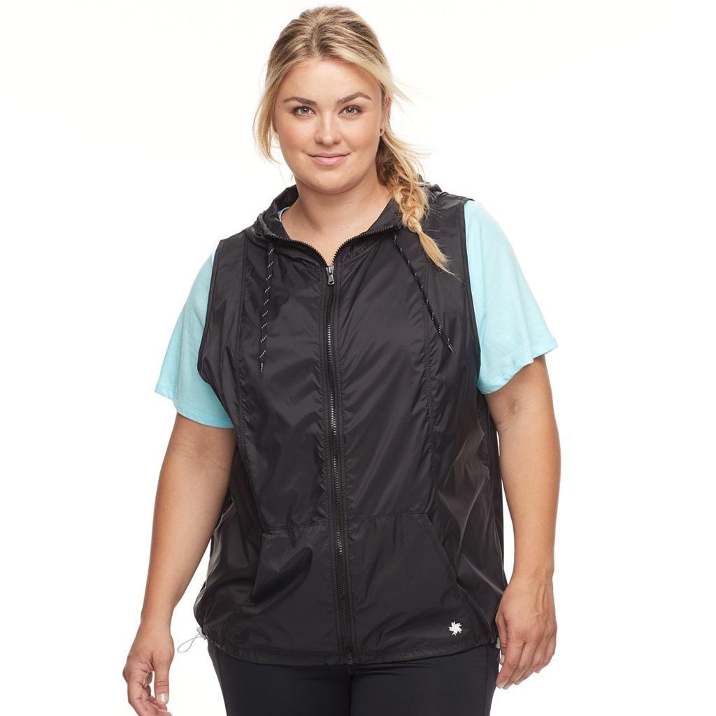 Plus Size Tek Gear® Windbreaker Vest