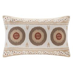 INK+IVY Angelo Embroidered Throw Pillow