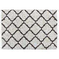 Gertmenian Equinox Luxury Trellis Shag Rug - 5'3'' x 7'