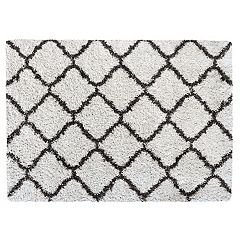 Gertmenian Equinox Luxury Trellis Shag Rug