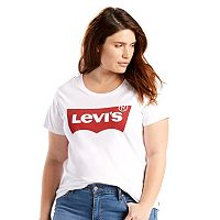Plus Size Levi's Batwing Logo Tee