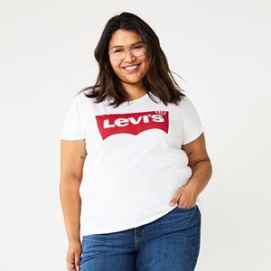 Plus Size Levi's® Logo Tee