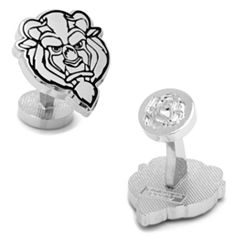 Disney Beauty & The Beast Cuff Links