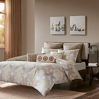 INK+IVY 3 pc Ayana Duvet Cover Set