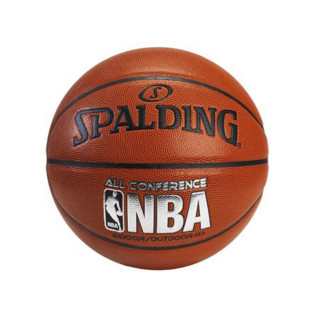 Spalding NBA All Conference 28.5-Inch Intermediate Indoor/Outdoor Basketball