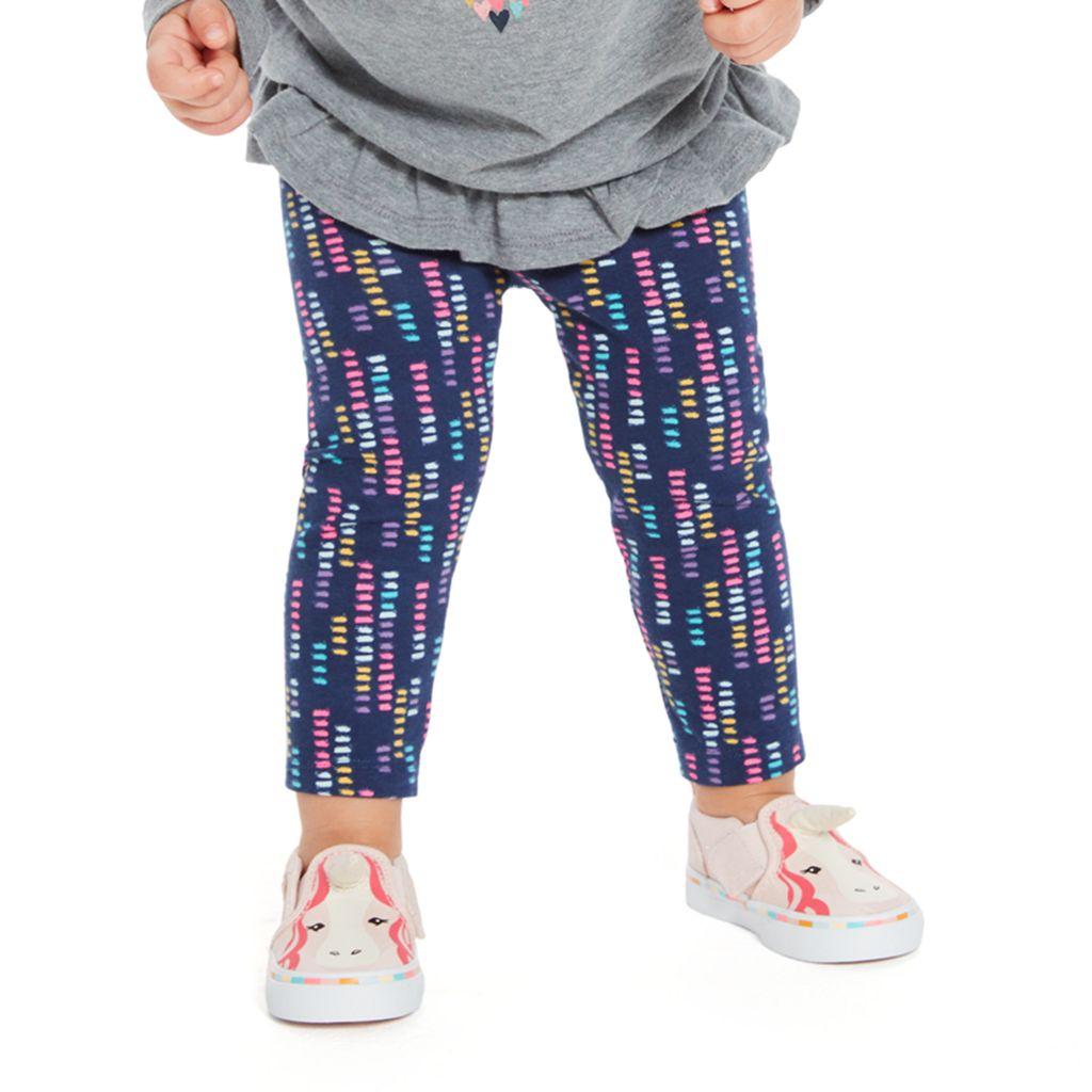 Baby Girl Jumping Beans® Print Long Leggings