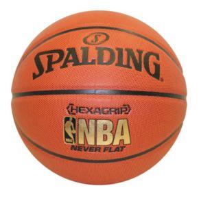 Spalding NBA Neverflat Hexagrip 29.5-Inch Official Indoor/Outdoor Basketball