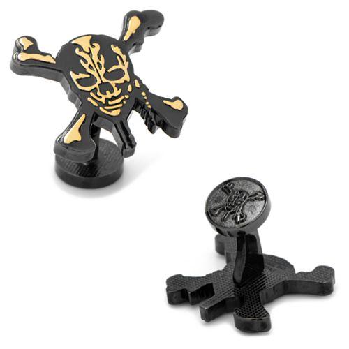 Disney Pirates of the Caribbean Skull and Crossbones Cuff Links
