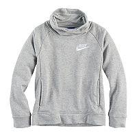 Girls 7-16 Nike Funnel Neck Sweatshirt