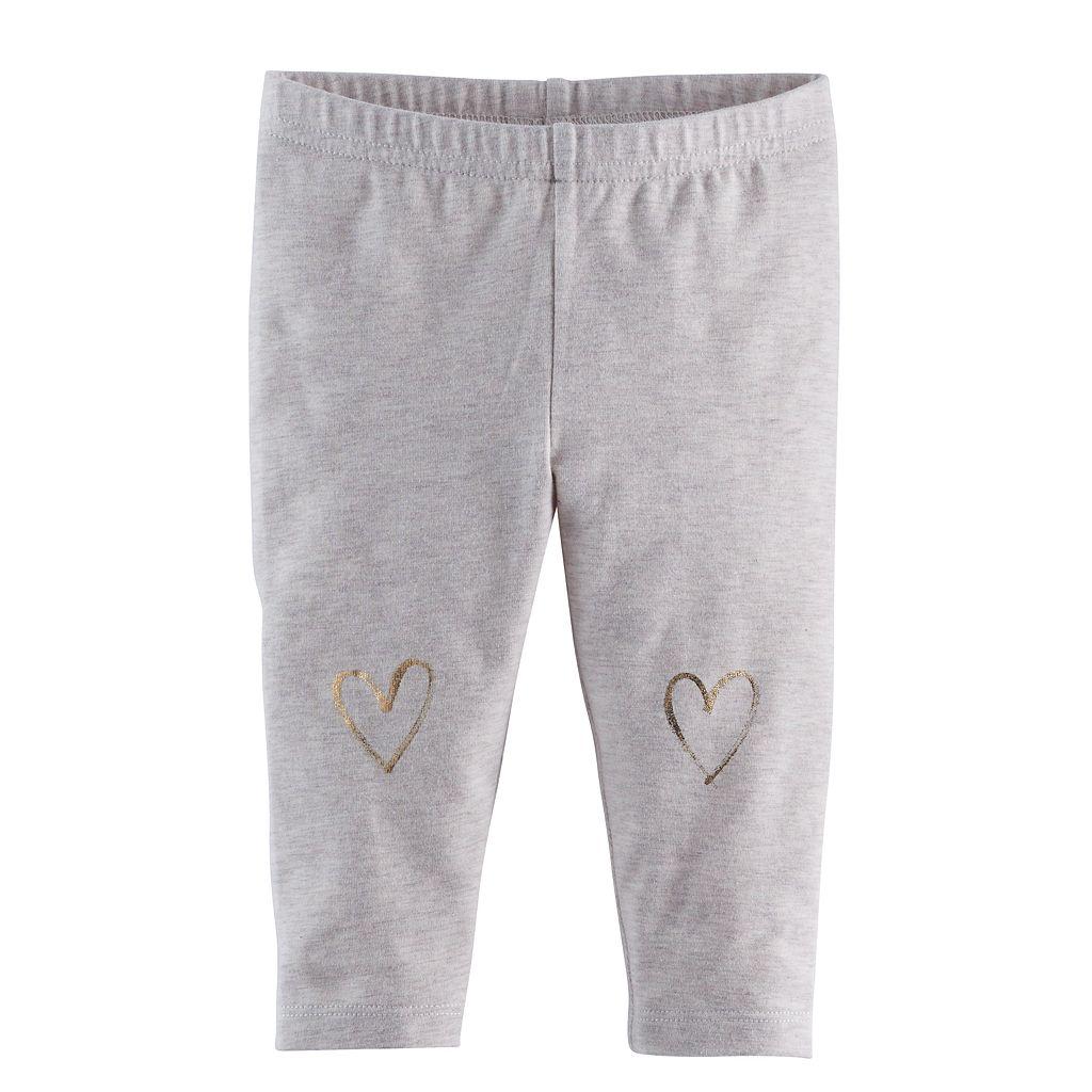 Baby Girl Jumping Beans® Embellished Leggings