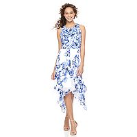 Women's Bethany Floral Handkerchief Hem Dress