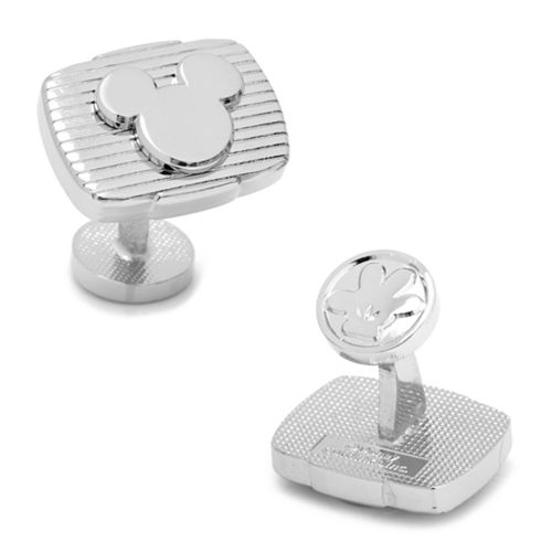 Disney Mickey Mouse Ribbed Cuff Links
