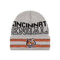 Adult New Era Cincinnati Bengals Crisp N' Cozy Knit Hat