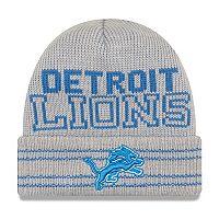 Adult New Era Detroit Lions Crisp 'n' Cozy Beanie