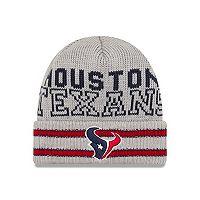 Adult New Era Houston Texans Crisp N' Cozy Knit Hat