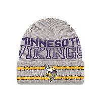 Adult New Era Minnesota Vikings Crisp N' Cozy Knit Hat