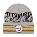 Adult New Era Pittsburgh Steelers Crisp 'n' Cozy Beanie