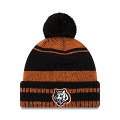 Adult New Era Cincinnati Bengals Glacial Pom Knit Hat