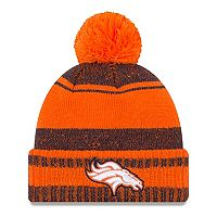 Adult New Era Denver Broncos Glacial Beanie