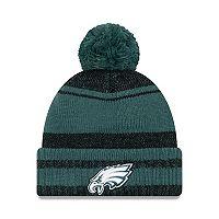 Adult New Era Philadelphia Eagles Glacial Pom Knit Hat