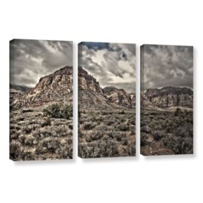 ArtWall ''No Distractions'' Canvas Wall Art 3-piece Set