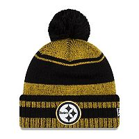 Adult New Era Pittsburgh Steelers Glacial Beanie