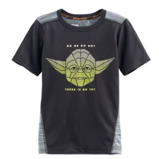 "Boys 4-7x Star Wars a Collection for Kohl's Yoda ""Do Or Do Not There Is No Try"" Graphic Tee"