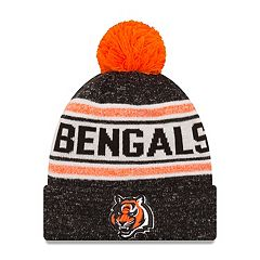 Adult New Era Cincinnati Bengals Toasty Cover Knit Hat