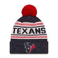 Adult New Era Houston Texans Toasty Cover Knit Hat