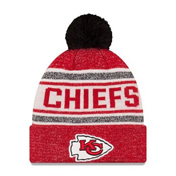 official photos a62db d8c78 Adult New Era Kansas City Chiefs Toasty Cover Knit Hat