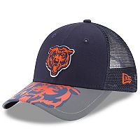 Youth New Era Chicago Bears 9FORTY Mega Flect Snapback Cap