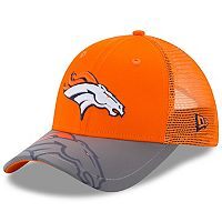 Youth New Era Denver Broncos 9FORTY Mega Flect Snapback Cap