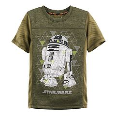 Boys 4-7x Star Wars a Collection for Kohl's R2D2 Mesh Sporty Graphic Tee