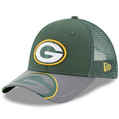 Youth New Era Green Bay Packers 9FORTY Mega Flect Snapback Cap