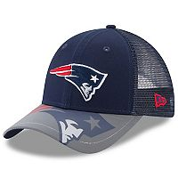 Youth New Era New England Patriots 9FORTY Mega Flect Snapback Cap